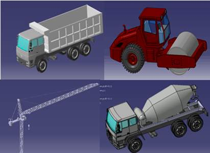 碾压混凝土拱坝施工过程仿真与优化-自主PLM 智慧工地管理平台 BIM施工管理系统